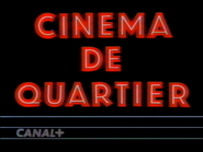 Canal Plus bumper - Cinema de Quartier - 1989