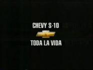 Chevy S-10 URA TVC Spanish 2000