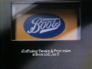 Boots AS TVC 1980