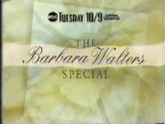 EBC promo - The Barbara Walters Special - 1991