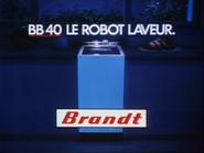 Brandt Robot Laveur RLN TVC 1985