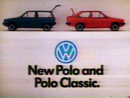 Volkswagen New Polo and Polo Classic AS TVC 1982