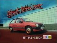 Vauxhall Nova AS TVC 1983
