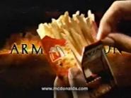 McDonalds URA Armageddon TVC 1998 Spanish