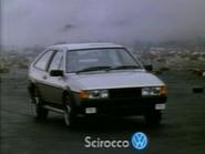 Volkswagen Scirocco AS TVC 1985