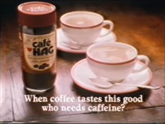 Cafe Hag AS TVC 1985