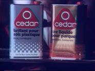 O Cedar RLN TVC 1980 - 1