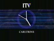 Carltrins 1993 ITV clock
