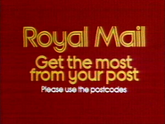 Royal Mail AS TVC 1980