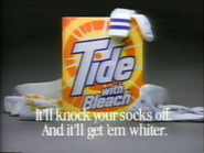 Tide with Bleach TVC - 1-29-1989