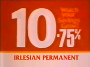 Irlesian Permanent TVC 1980 2