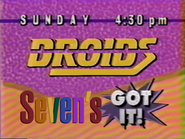 Seven promo - Star Wars Droids - 1992
