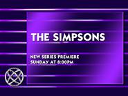 Globevis - The Simpsons premiere promo (1990)