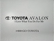 Toyota Avalon TVC 1994