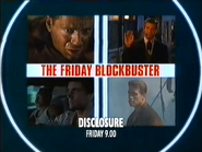 ITV promo - The Friday Blockbuster - Disclosure - 1999