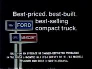 Ford Mercury TVC URA and CY 1985