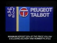 Peugeot Talbot AS TVC 1984