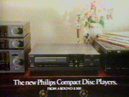 Philips Compact Disc Players AS TVC 1986