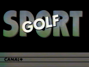 C Plus bumper - Sport Golf - 1984