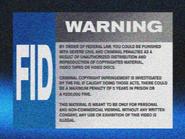 Omega FID screen - 1999 - VHS