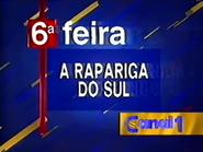 Canal 1 promo - A Rapariga Do Sul (1995)