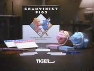 Chauvinist Pigs from Tiger Games URA TVC 1991