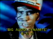 Big Audio Dynamite TVC PS 1987