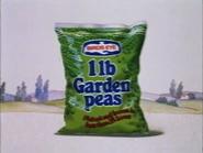 Birds Eye Garden Peas AS TVC 1982