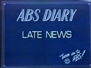 ABS English slide - Late Diary - 1986