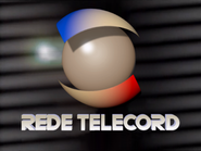 Rede Telecord ID - Scrolling Grey Lines