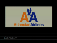 Canal Plus sponsor - Atlansian Airlines - 1992