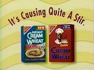 Cream of Wheat and Instant Cream of Wheat TVC 1994