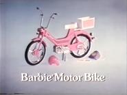 Barbie Motor Bike AS TVC 1985