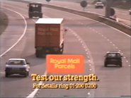 Royal Mail Parcels AS TVC 1985