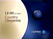CTV promo - Country Cheyenne - 2003