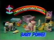 Estrela Meu Querido Poni Baby Ponei TVC 1987