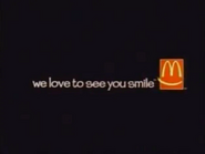 Mcdonalds we love to see you smile