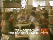 McDonald's URA TVC - Hardnose Mrs. Hatcher - 12-21-1987 - 2