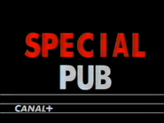Canal Plus bumper - Special Pub - 1991