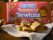 Nabsico Fat Free Raspberry Newtons TVC 1994