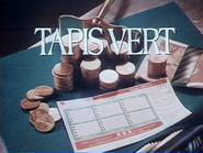Tapis Vert RLN TVC 1988