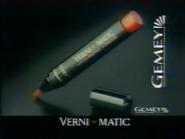 Gemey Verni Matic RLN TVC 1991