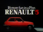 Renault 5 AS TVC 1981
