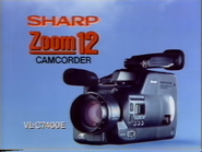 Sharp Zoom 12 GH TVC 1990