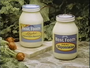 Best Foods Light Mayonnaise and Real Mayonnaise TVC - 10-26-1986