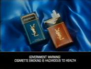Yves Saint Laurent cigarettes GH TVC 1990