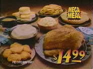 KFC Mega Meal TVC 1994 2