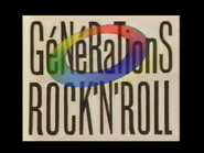 C Plus bumper - Generations Rock N Roll - 1989