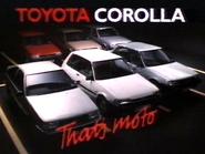Toyota Corolla AS TVC 1985