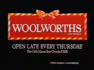 Woolworths AS TVC Christmas 1985
